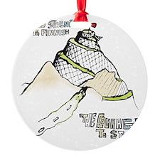 mountainRun Ornament