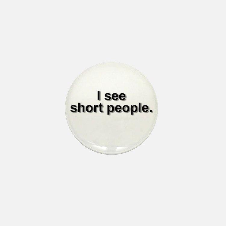 Cute Short people Mini Button