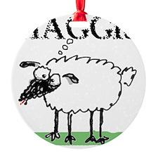 Surprised Sheep3 Ornament