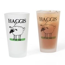 Surprised Sheep3 Drinking Glass