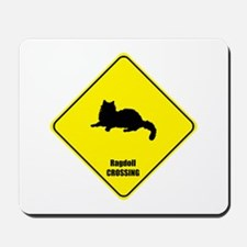 Ragdoll Crossing Mousepad