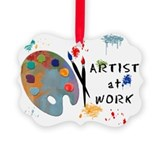 Artist Picture Frame Ornaments
