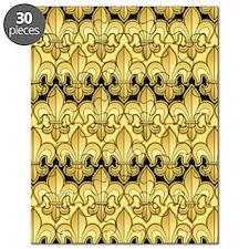 FleurWDgoldPcKindleS Puzzle