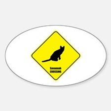 Savannah Crossing Oval Decal
