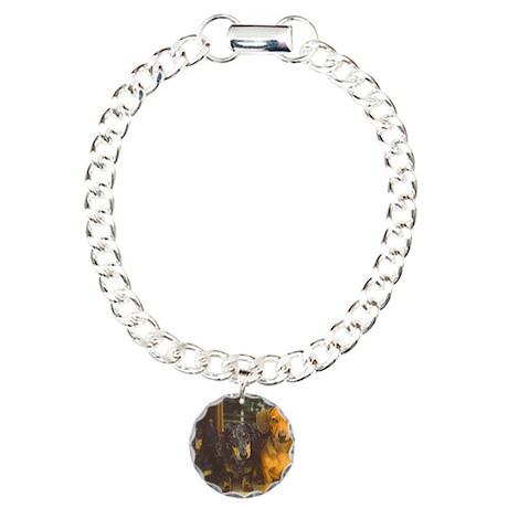 dill, basil, woody Charm Bracelet, One Charm