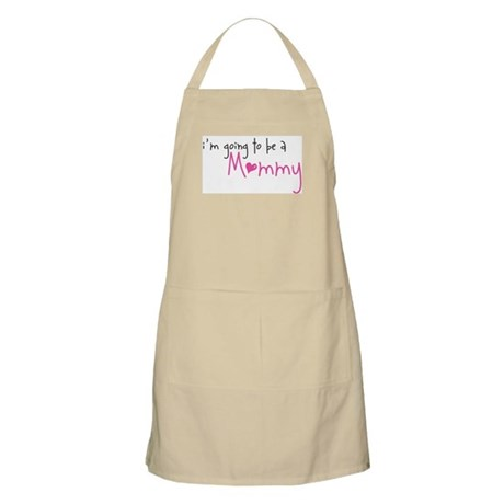 I'm going to be a Mommy BBQ Apron