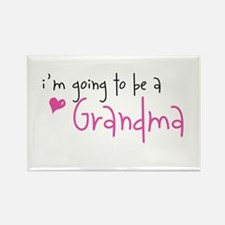 I'm going to be a Grandma Rectangle Magnet