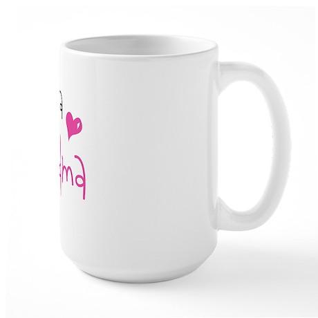 I'm going to be a Great Grandma Large Mug