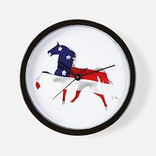 Tennessee Walking Horse Big L Wall Clock