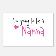 I'm going to be a Nanna Postcards (Package of 8)