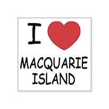 "MACQUARIE_ISLAND Square Sticker 3"" x 3"""