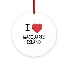 MACQUARIE_ISLAND Round Ornament