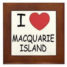 MACQUARIE_ISLAND Framed Tile