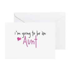 I'm going to be an Aunt Greeting Cards (Package of