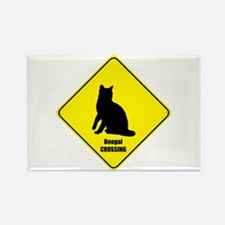 Bengal Crossing Rectangle Magnet