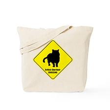 Shorthair Crossing Tote Bag