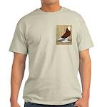 Red Bald West Light T-Shirt