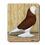 Red Bald West Mousepad