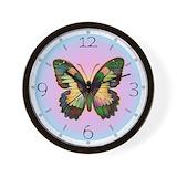 Butterfly art Basic Clocks