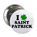 I Love Saint Patrick Button