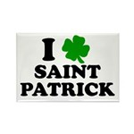I Love Saint Patrick Rectangle Magnet