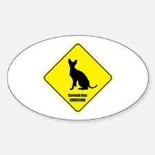 Rex Crossing Oval Decal