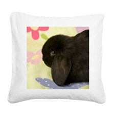 21SweetPea Square Canvas Pillow