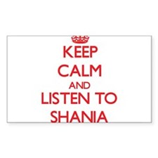 Keep Calm and listen to Shania Decal