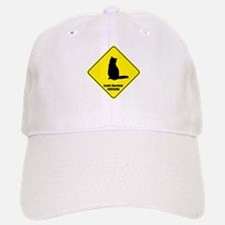 Shorthair Crossing Baseball Baseball Cap