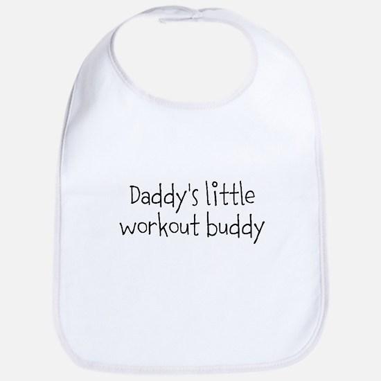 Daddys little workout buddy Bib