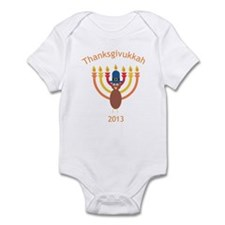 Thanksgivukkah 2013 Infant Bodysuit