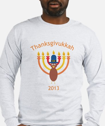 Thanksgivukkah 2013 Long Sleeve T-Shirt