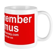 Dogs Against Romney- remember seamus Small Mug