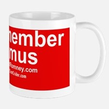 Dogs Against Romney- remember seamus Small Small Mug