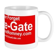 Dogs Against Romney bumber-crate-gate Small Mug