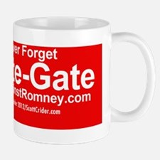 Dogs Against Romney bumber-crate-gate Small Small Mug