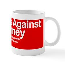 Dogs Against Romney Small Mug