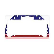 Liberty Bell Flag License Plate Holder