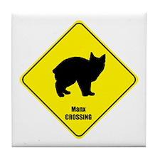 Manx Crossing Tile Coaster