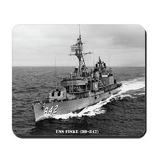 fiske dd large framed print Mousepad