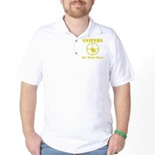 Art_snipers_get more head1 yellow T-Shirt