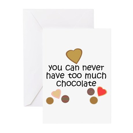 Chocolate Lover Greeting Cards (Pk of 10)