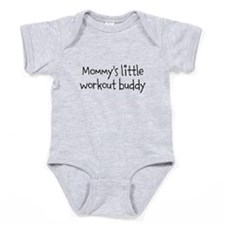 Mommys little workout buddy Baby Bodysuit