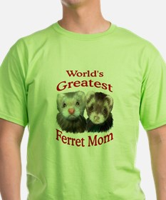 World's Greatest Ferret Mom T-Shirt