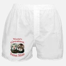 World's Greatest Ferret Mom Boxer Shorts