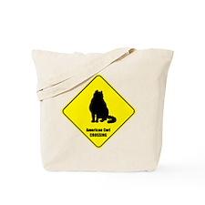 Curl Crossing Tote Bag