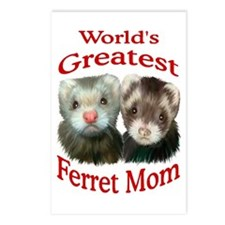 World's Greatest Ferret Mom Postcards (Package of