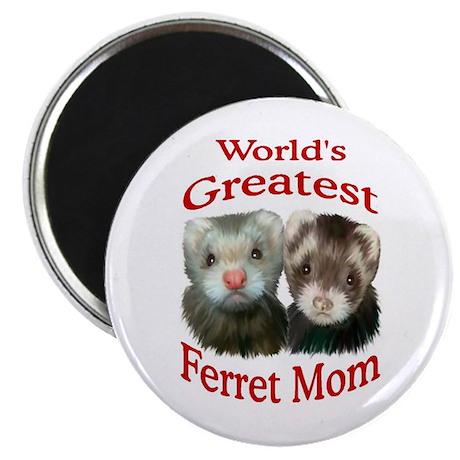 World's Greatest Ferret Mom Magnet
