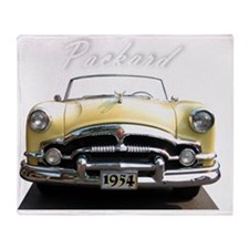 Packard.54 Throw Blanket