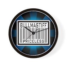 Bullmastiff - Priceless Wall Clock